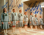 Sound of Music Von Trap Family 7 Genuine Autographs complete.